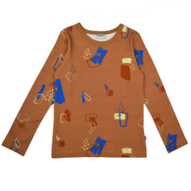 Baba - Longsleeve Painted Forms