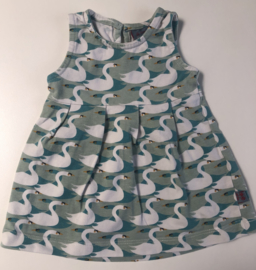 Froy & Dind - Mint Swans Dress 50/56