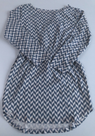 Atracktion - Aura Dress Bluestone Zigzag 122