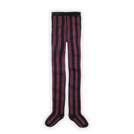 Sproet&Sprout - Tights Stripe Fig