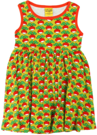 Duns Sweden - ADULT SS Radish Lemonade Gather dress
