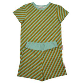 Baba Kidswear - Pyjama Short Diagonal Blue