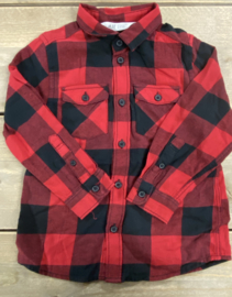 H&M - Red Checked Shirt 98/104