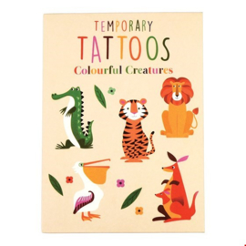 Rex London - Colourful Creatures Temporary Tattoos (2sheets)