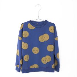 Lötiekids - Sweatshirt Moons Indigo Blue