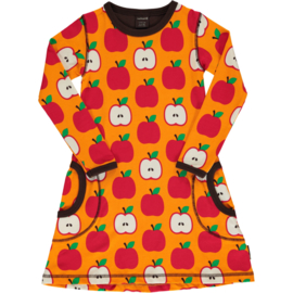 MAXOMORRA CLASSIC - Dress Long Sleeve Apple
