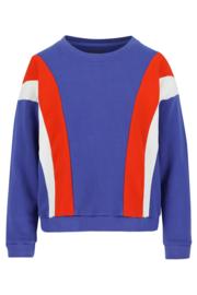 Lily Balou - Sweater Jake Colourblock Dazzling Blue