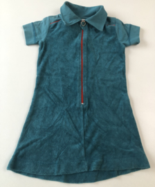 Kik Kid - Blue Terry Dress 110/116