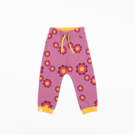 Alba of Denmark - Lucca Baby Pants Bordeaux Flower Power Love