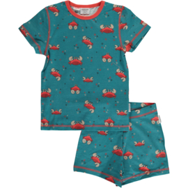 Maxomorra - Pyjama Set Short Sleeve Crab