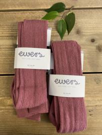 Ewers - Kousenbroek TRAFORATO Dusty Rose
