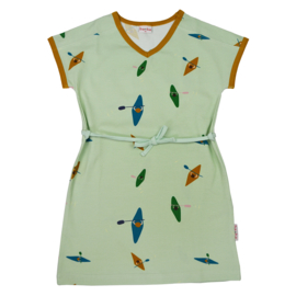 Baba Kidswear - V-Neck Dress Kayak River