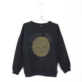 Lötiekids - Sweatshirt Sleepy Moon Charcoal