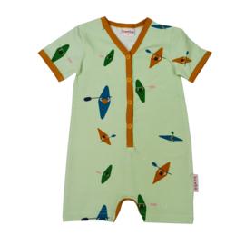 Baba Kidswear - V-neck Summersuit Kayak River