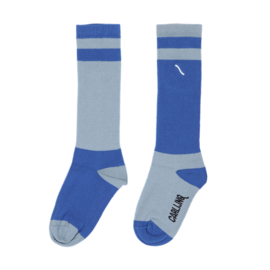 CarlijnQ - Knee Socks Light Blue/Blue