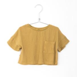 Lötiekids - Bambula Crop Tee Solid Sun Yellow