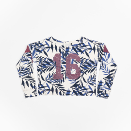 Atracktion - Donna Sweat Solidate Blue Summer Leaves