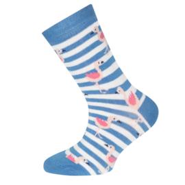 Ewers - Socken Flamingos Malibu Blue