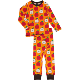 MAXOMORRA CLASSIC - Pyjama Set Longsleeve Apple