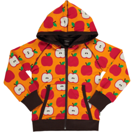 MAXOMORRA CLASSIC - Cardigan Hood Apple