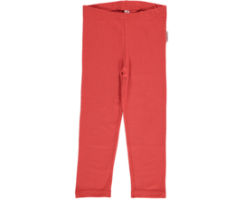 Maxomorra - Leggings Rusty Red