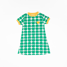 Alba of Denmark - Vida Dress Alpine Green Wanna Be an Animal