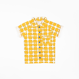 Alba of Denmark - Chris Shirt Bright Gold Wanna Be an Animal