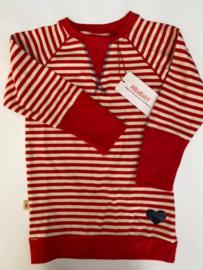 Alba - Duna Dress Red Stripes