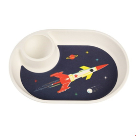 Rex London - Space Age Bamboo Eggplate