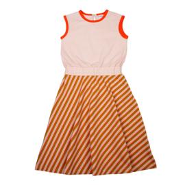 Baba Kidswear - Smockdress Long Diagonal Pink