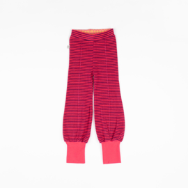 Alba of Denmark - Hami Tight Pants Raspberry Magic Stripes
