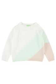 Lily Balou - Luda Colourblock Sweater Off White