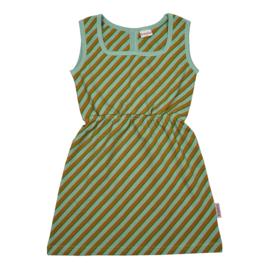 Baba Kidswear - Billie Dress Diagonal Blue