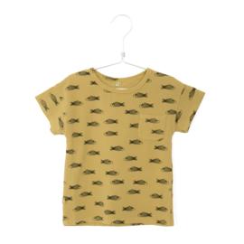 Lötiekids - T-Shirt Shortsleeved Fishes Sun Yellow