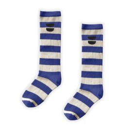 Sproet&Sprout - High Sock Stripe Cobalt