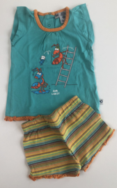 Little Woody - Ants Summer PJ Blue 3 maand