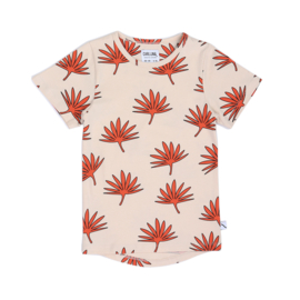 CarlijnQ - T-Shirt Dropback Palm Leaf