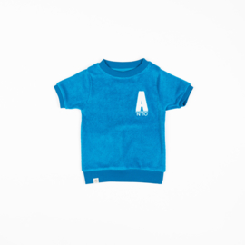 Alba of Denmark - Roy T-Shirt Methyl Blue
