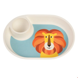 Rex London - Charlie The Lion Bamboo Eggplate