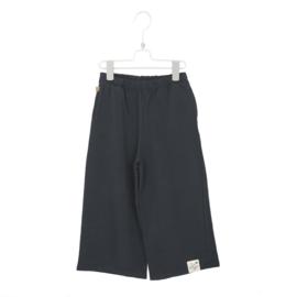 Lötiekids - Culotte Pants Solid Washed Black