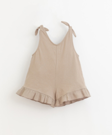 Play Up - Short Jumpsuit with Frill Bicho