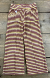 Alba - Terry Striped Box Pants 104