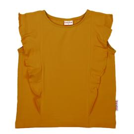 Baba Kidswear - Ruffle Shirt Chai Tea