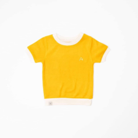 Alba Of Denmark - Vesta T-Shirt Old Gold