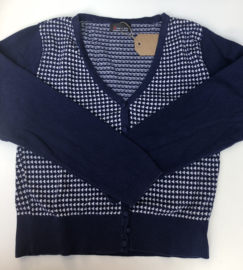 Froy&Dind - Navy Triangles L