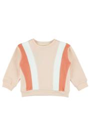 Lily Balou - Sweater Jake Colourblock Creole Pink
