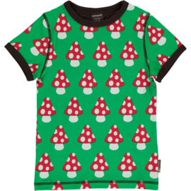 MAXOMORRA CLASSIC - Short Sleeve Top Mushroom