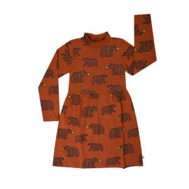 Carlijn Q - Skater Collar Dress Grizzly