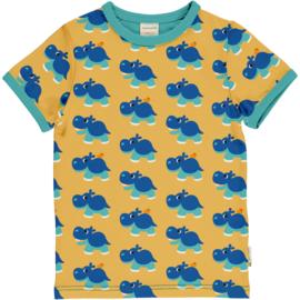 Maxomorra - Top Short Sleeves Hippo