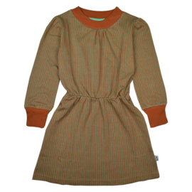 Baba - Charlie Dress Jacquard Thin Stripes